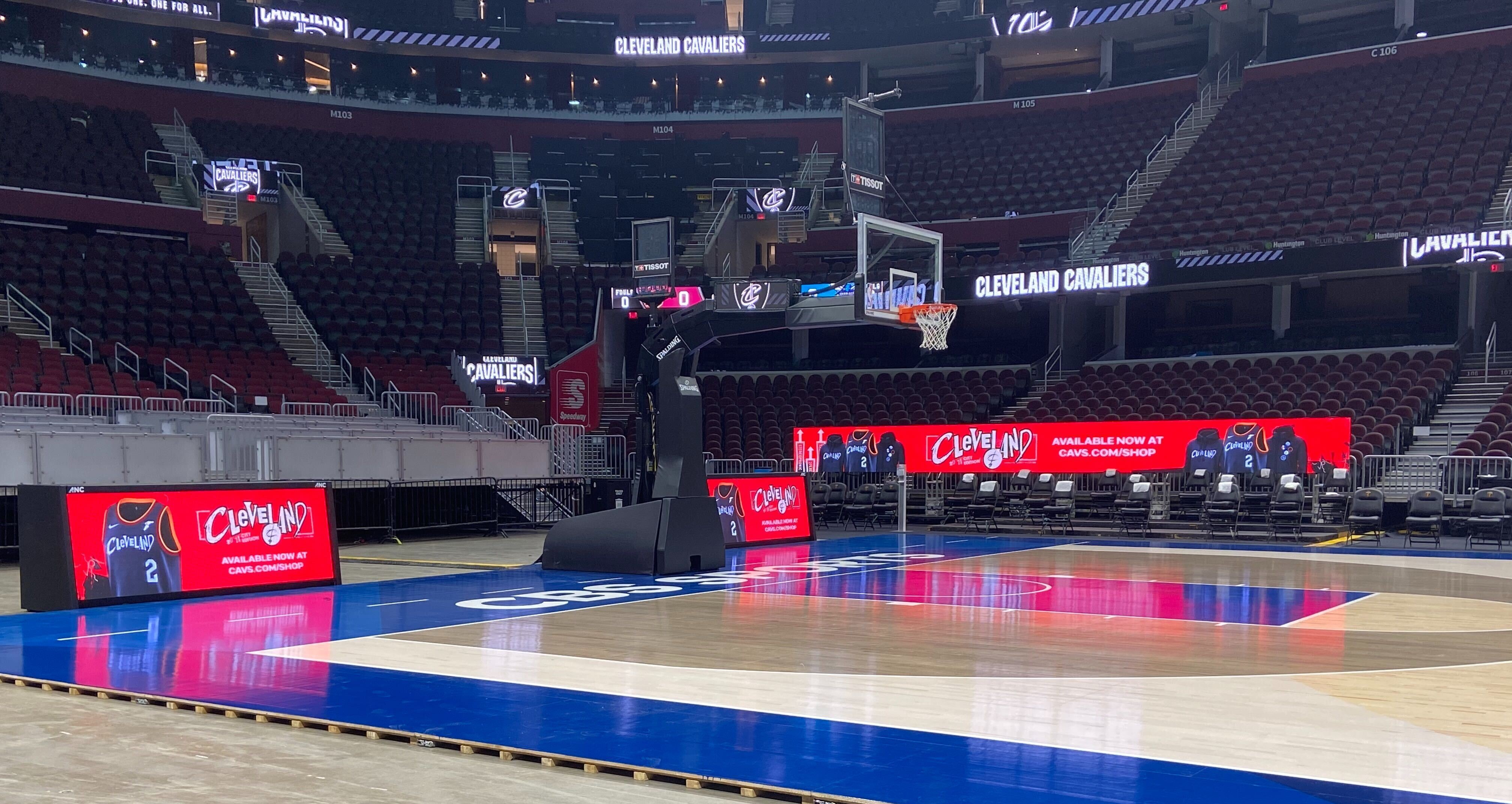 Cleveland Cavalier Courtside System