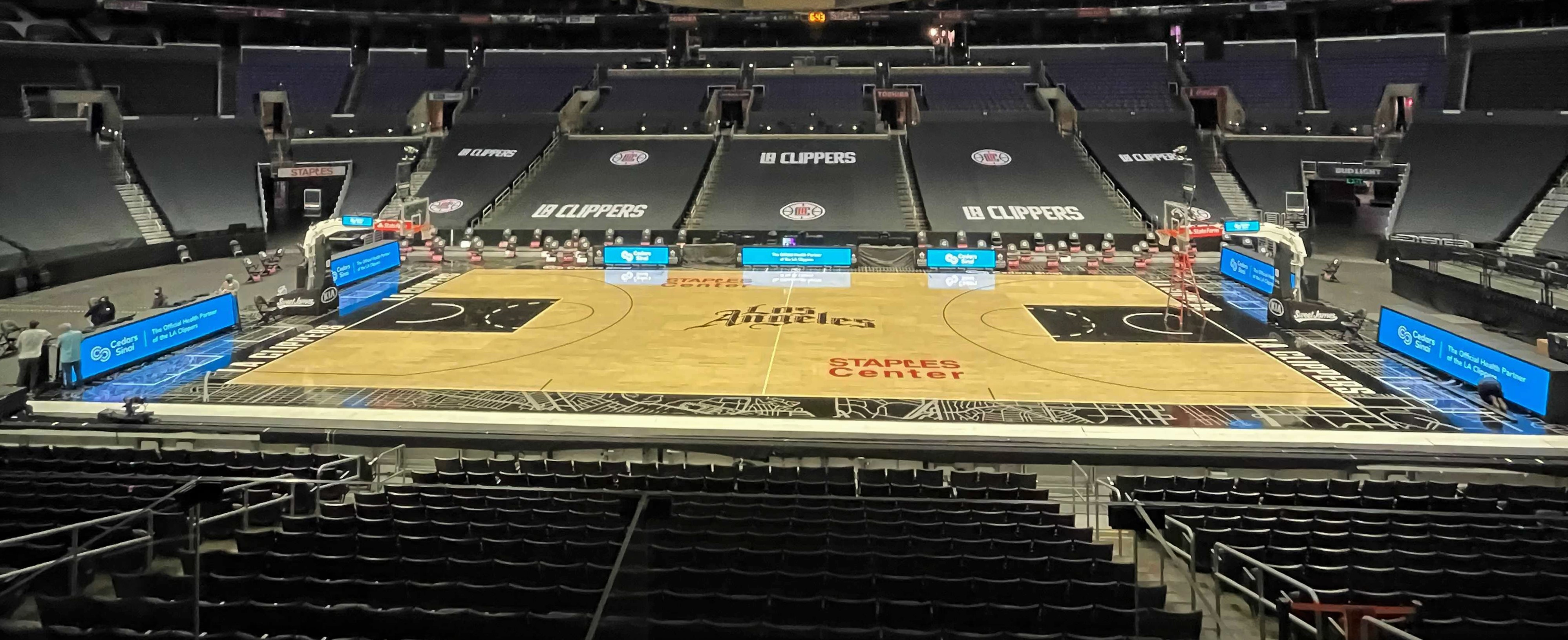 L.A. Clippers Courtside System