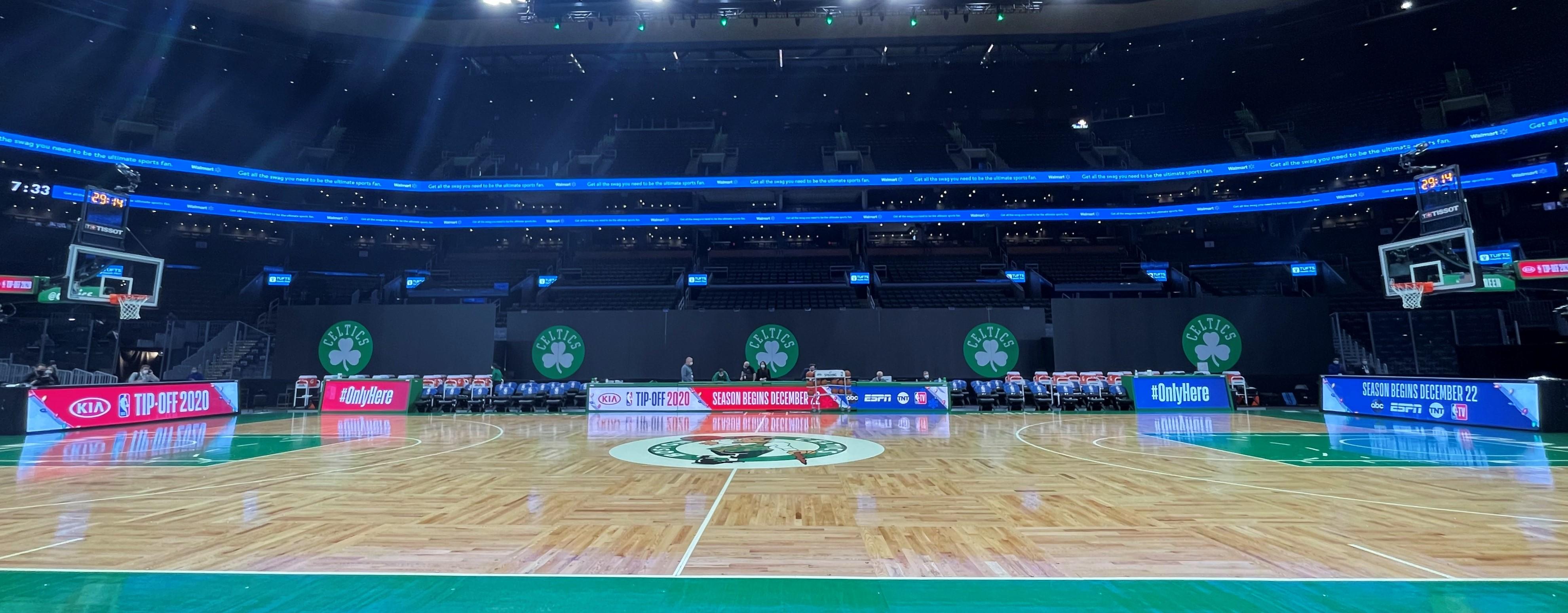 Boston Celtics Courtside System