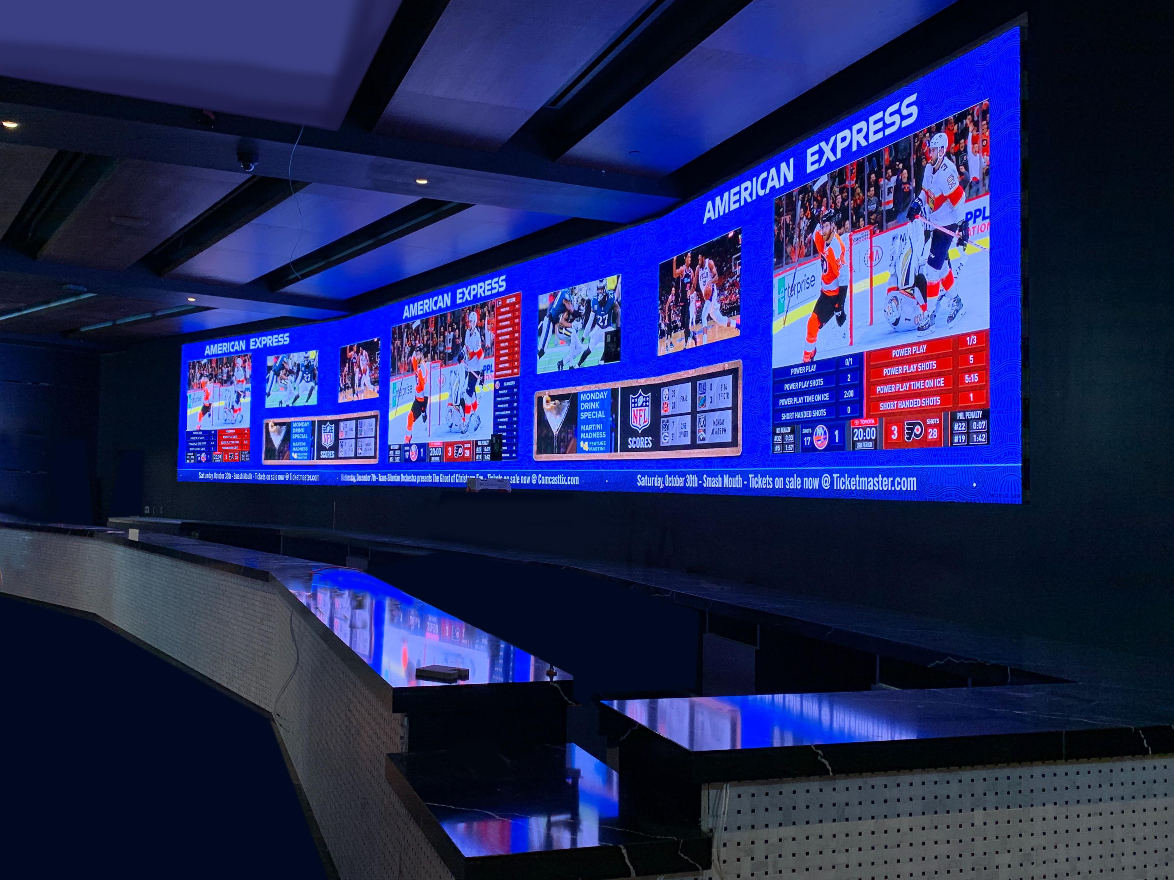 The Rivers Casino Philadelphia Sports Lounge