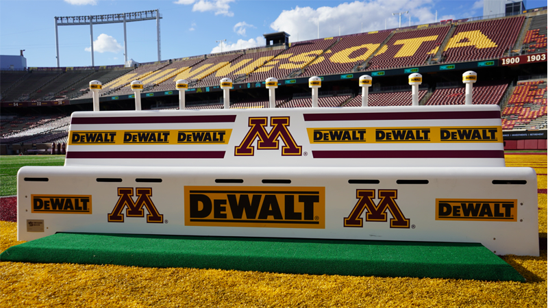 ANC Partners with DEWALT, World's Largest Tool Brand with First-Ever College Football Sponsorship