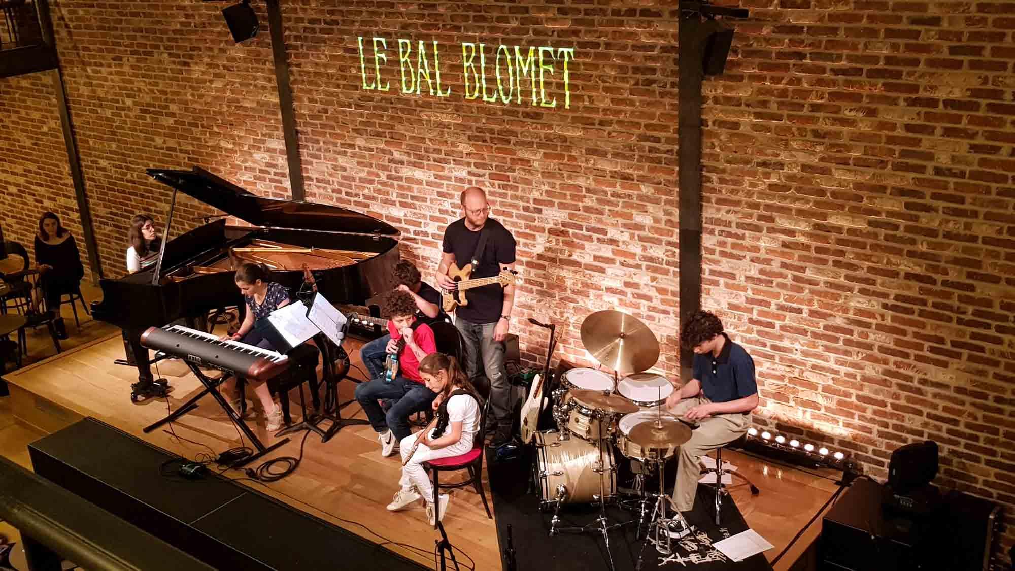 Concert de jazz à L'Ecole Koenig