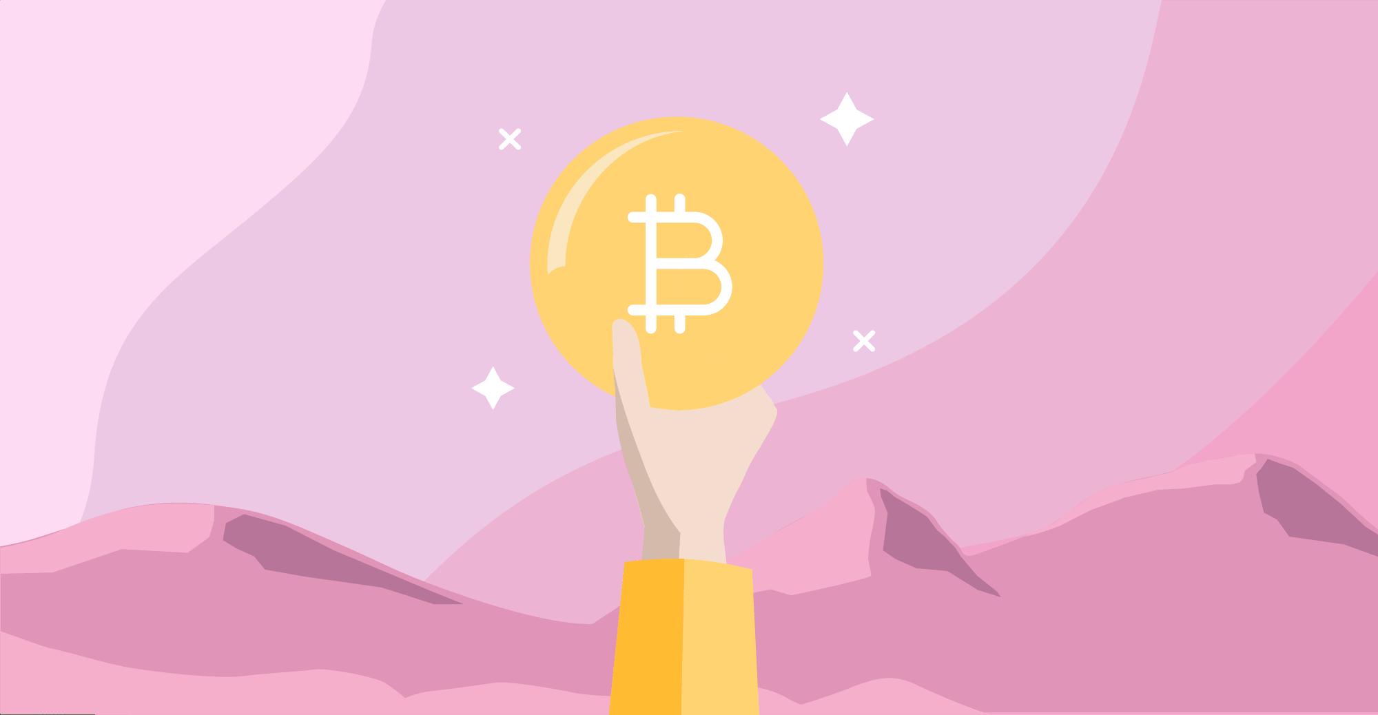 Astronauta consigue Bitcoin