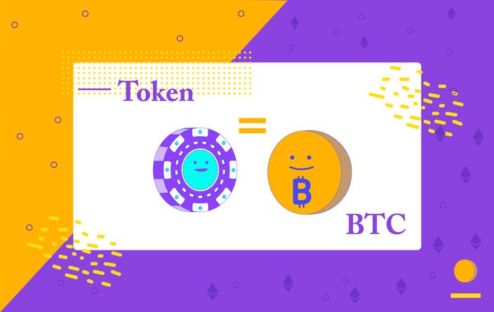 Relación entre tokens y criptomonedas