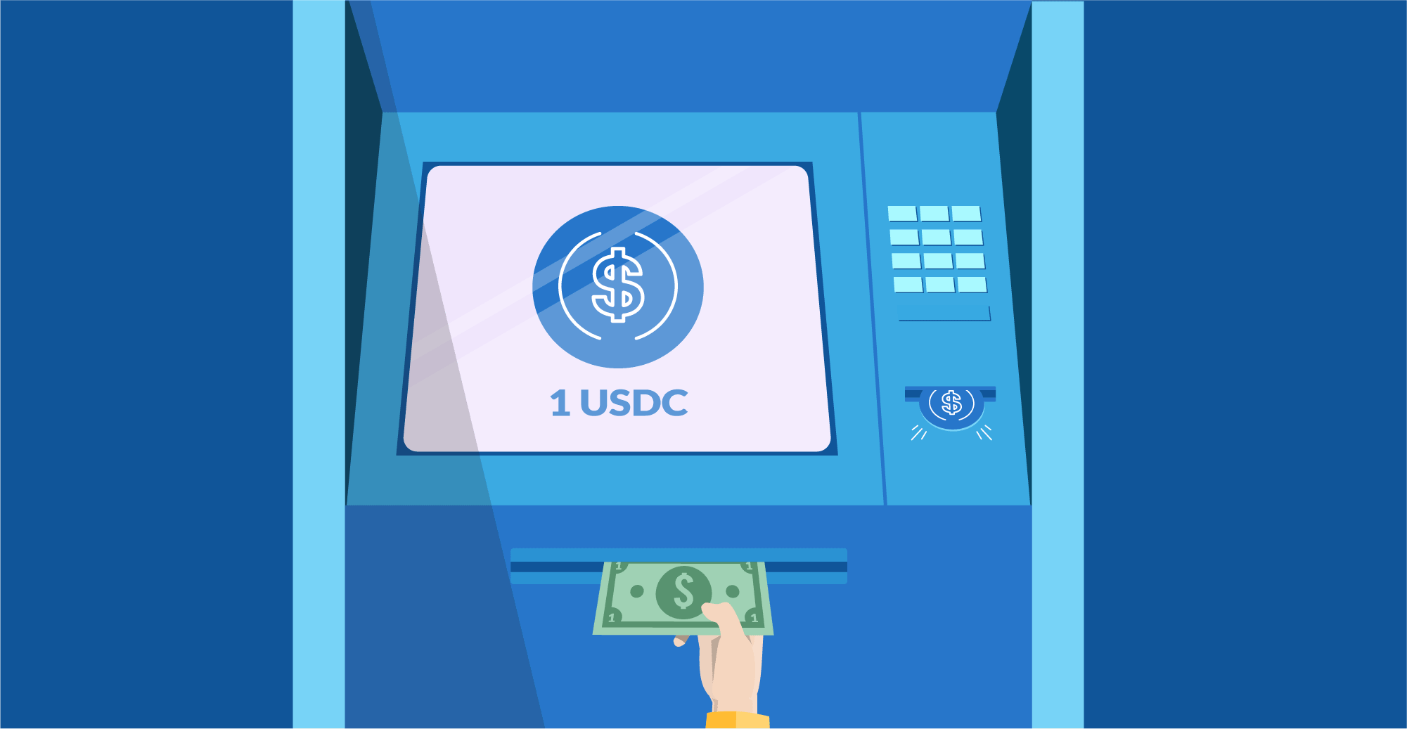 El modelo USDC de stablecoins