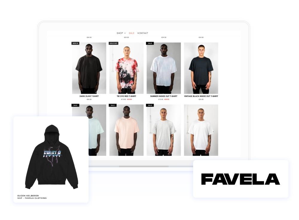 Favela Clothing testimonial