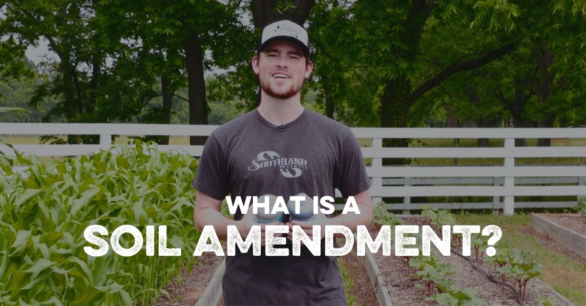 What is a Soil Amendment?