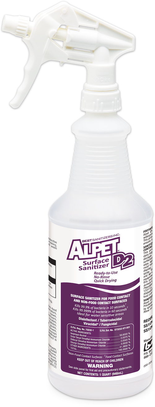 Alpet D2 Surface Sanitizer Spray