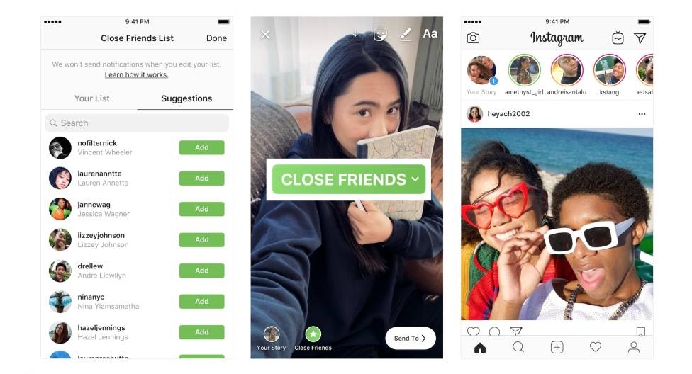 How to use Instagram Close Friends