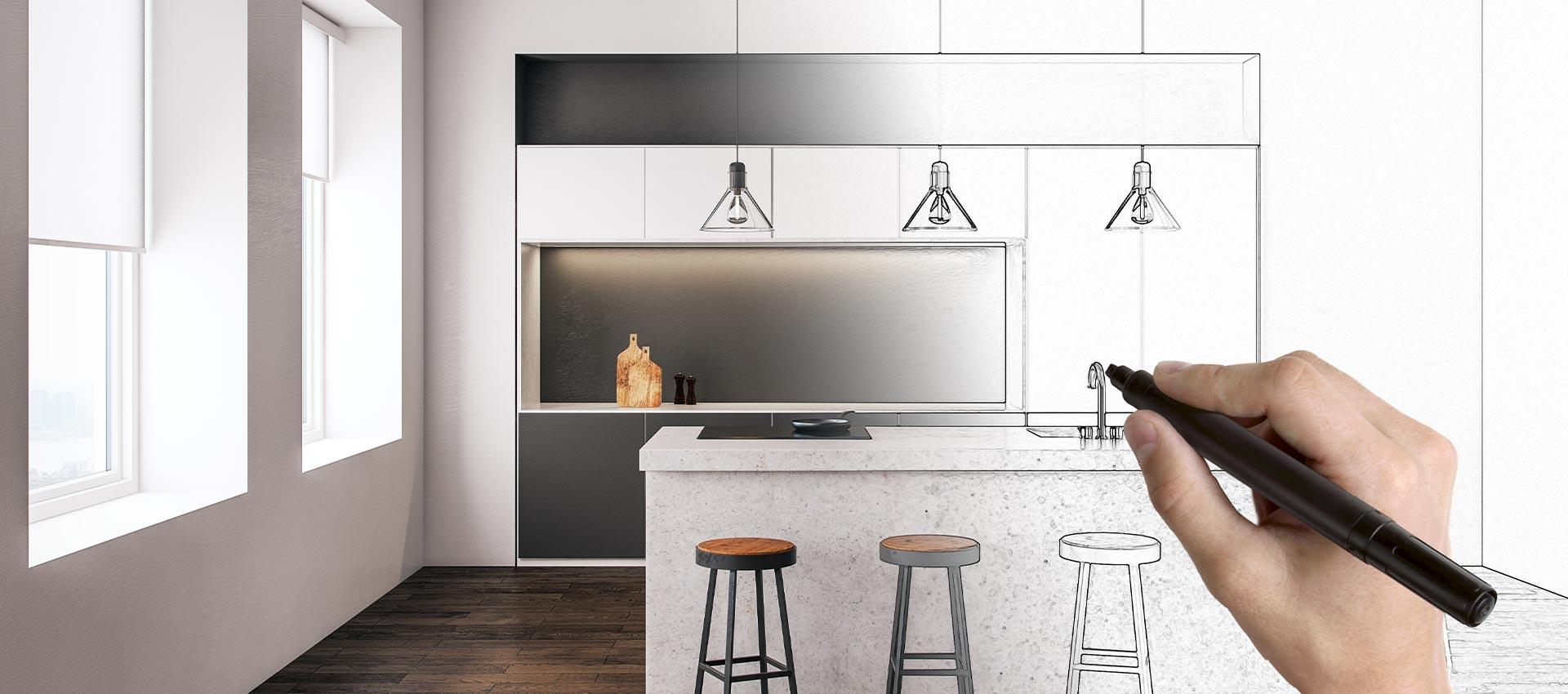 Neue Küche – Teilrenovation oder kompletter Umbau?