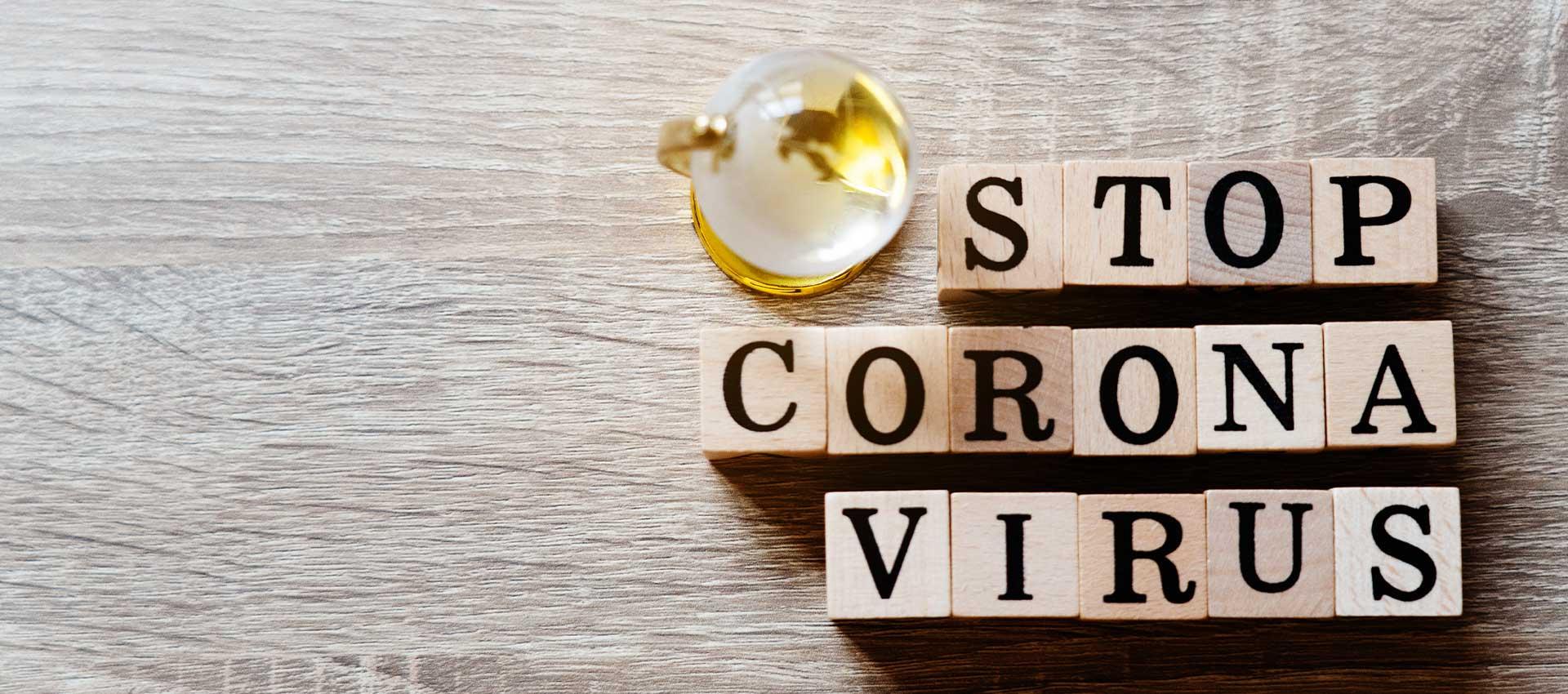 Corona-Utensilien