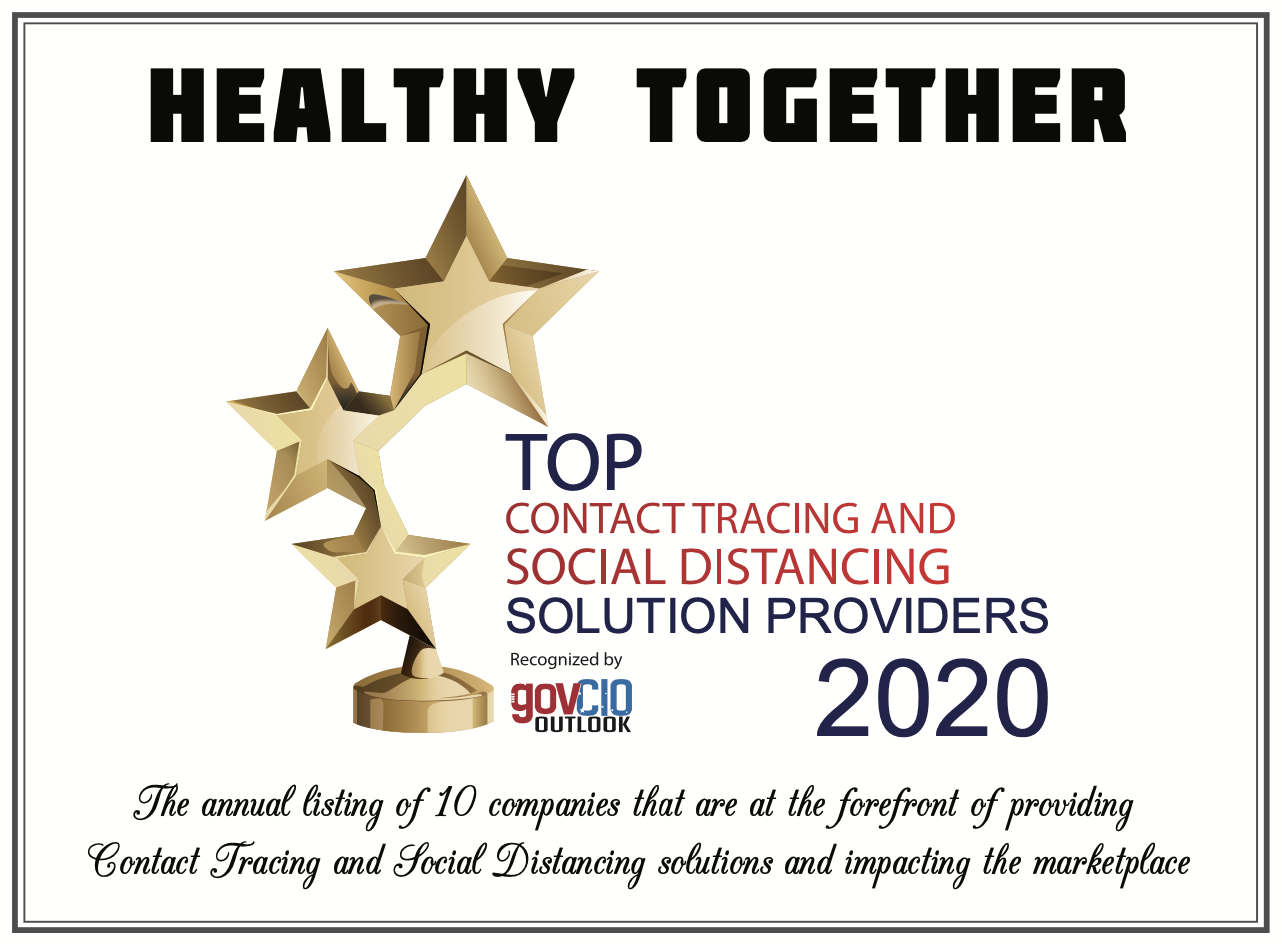 Healthy Together: Top 10 COVID-19 Solution Provider of 2020