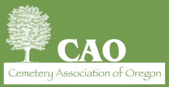 Cemetery Association of Oregon logo
