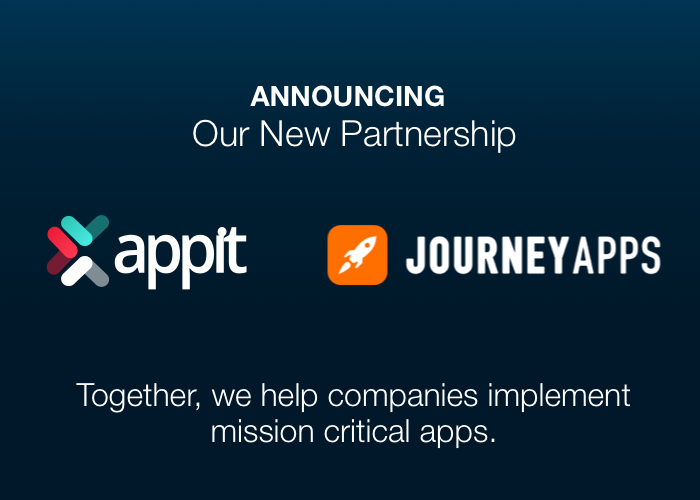 AppIt Ventures and JourneyApps Logos