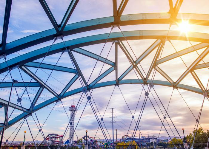 Bridge in the City of Denver