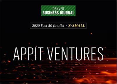 AppIt is s DBJ Fast 50 Finalist