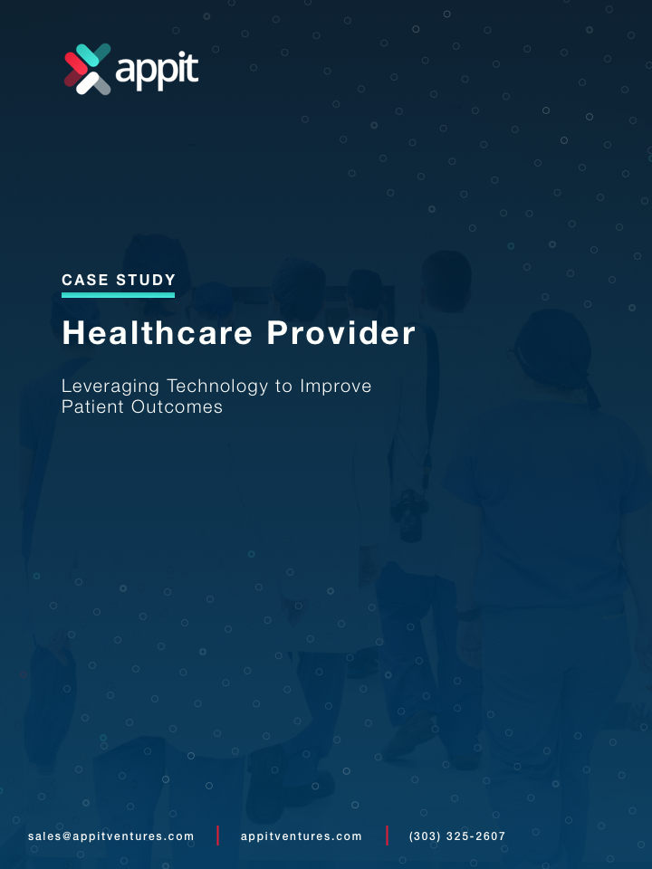 Healthcare Application Case Study Front Cover