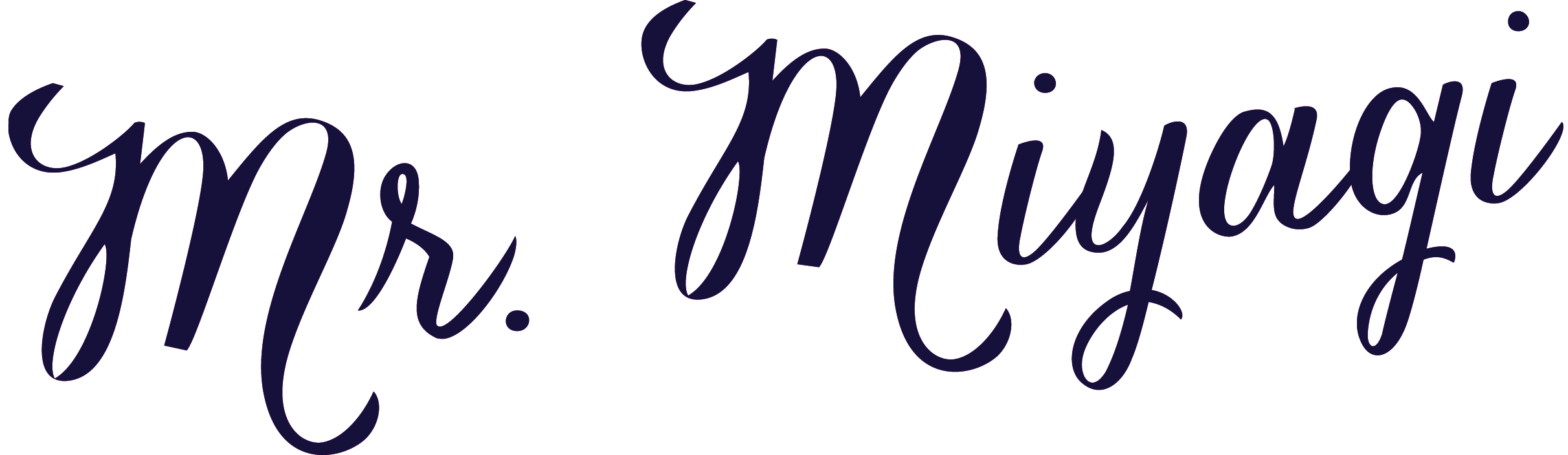 Mr Miyagi logo