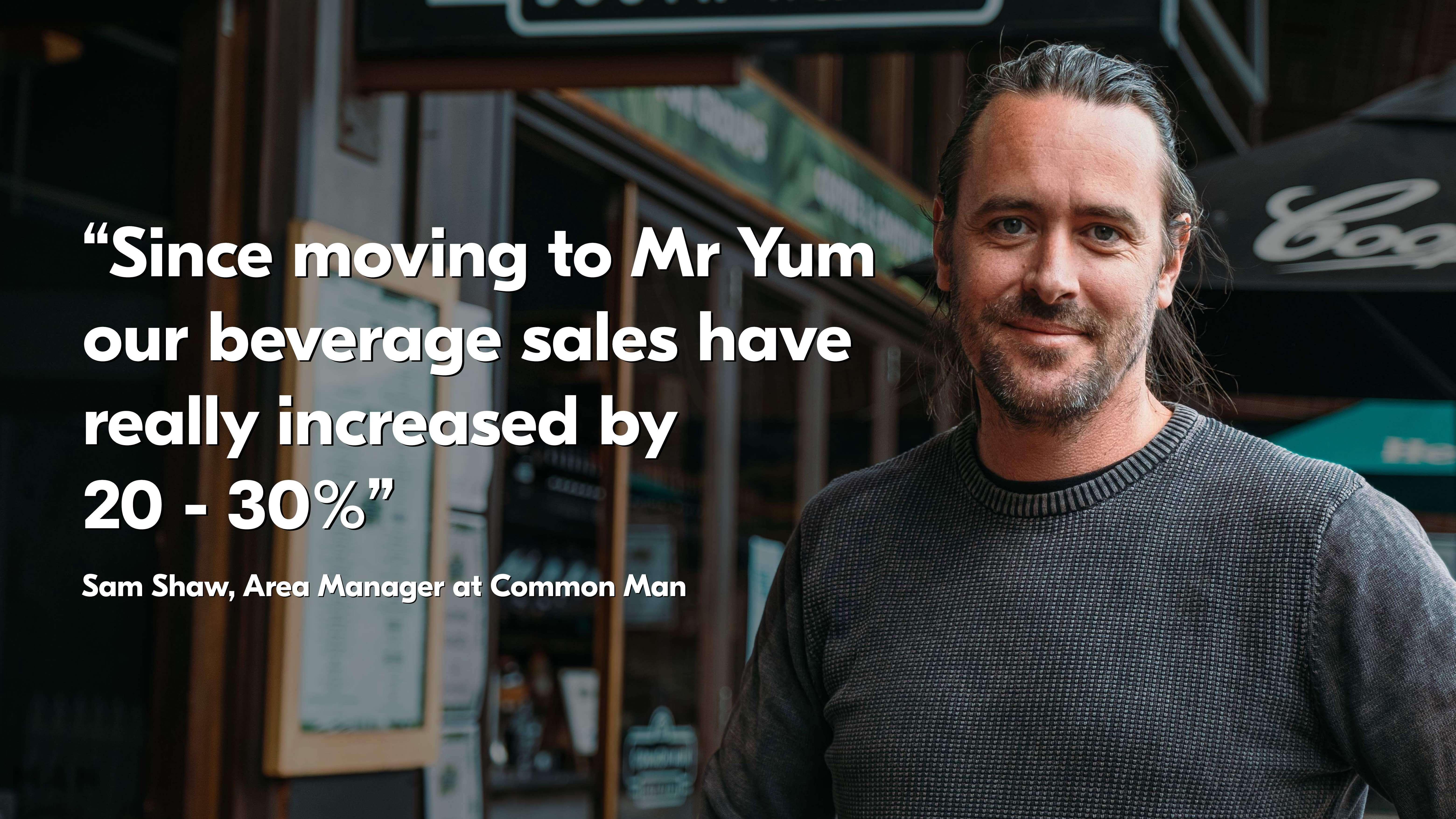 Venue owner Mr Yum