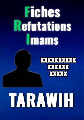 fiches réfutations imams tarawih - maamar metmati