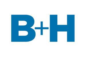 B+H logo