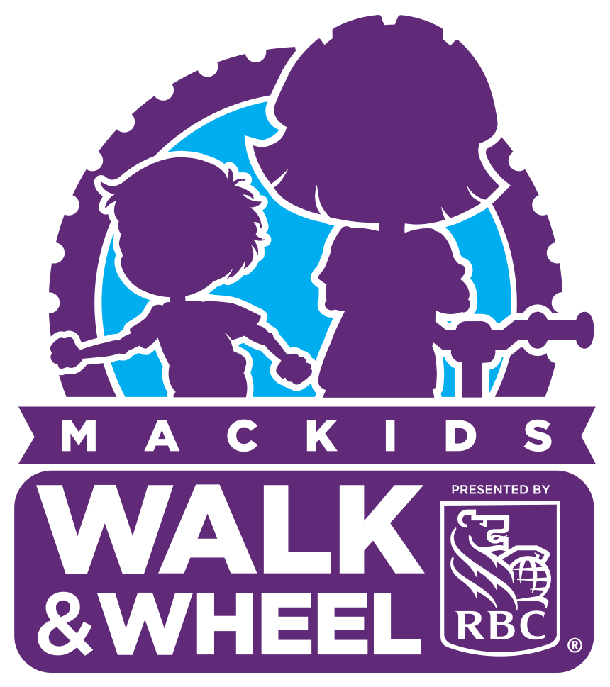 Walk and Wheel logo with RBC as presenting sponsor