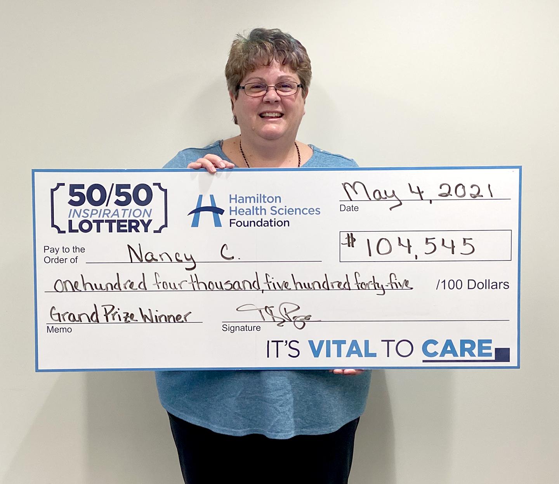 Lottery winner Nancy C.