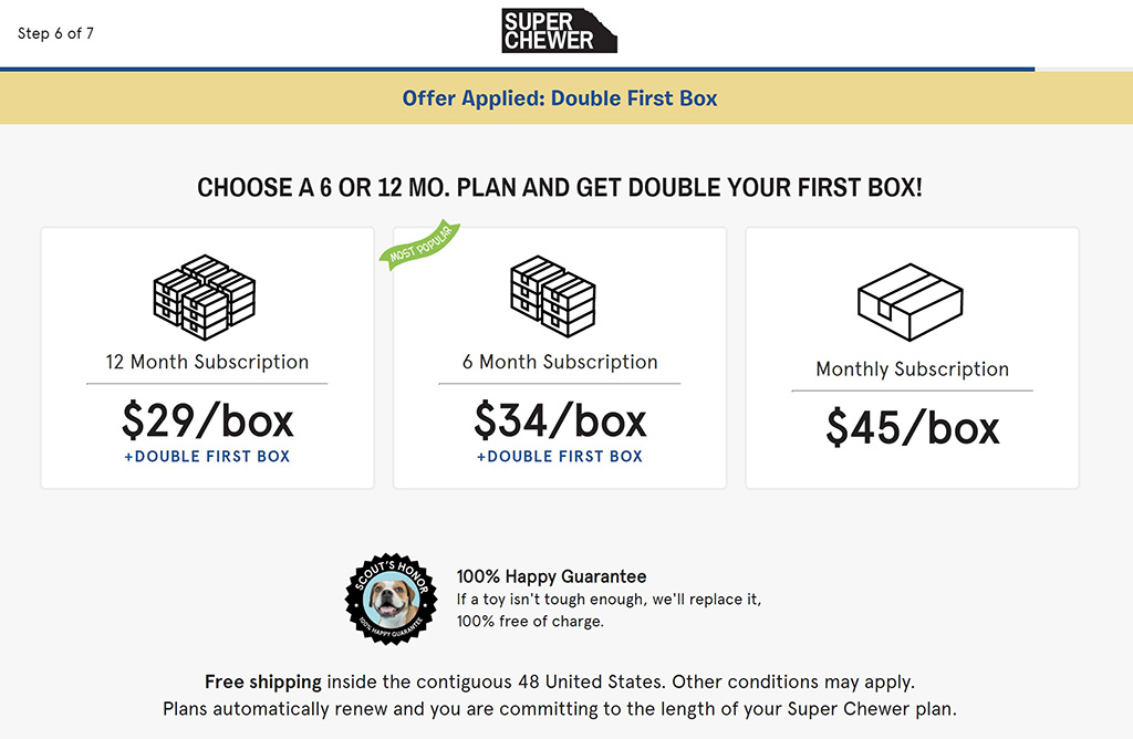 barbox super chewer subscription