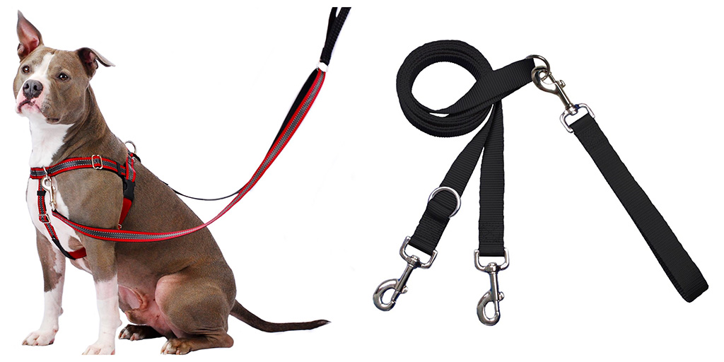 freedom harness with double ended leash