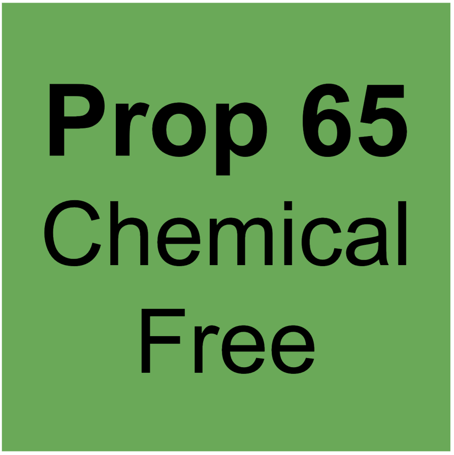 Prop 65 Chemical Free