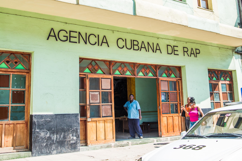 Cuban Rap Agency - Agencia Cubana de Rap. Source: Wikimedia Commons.