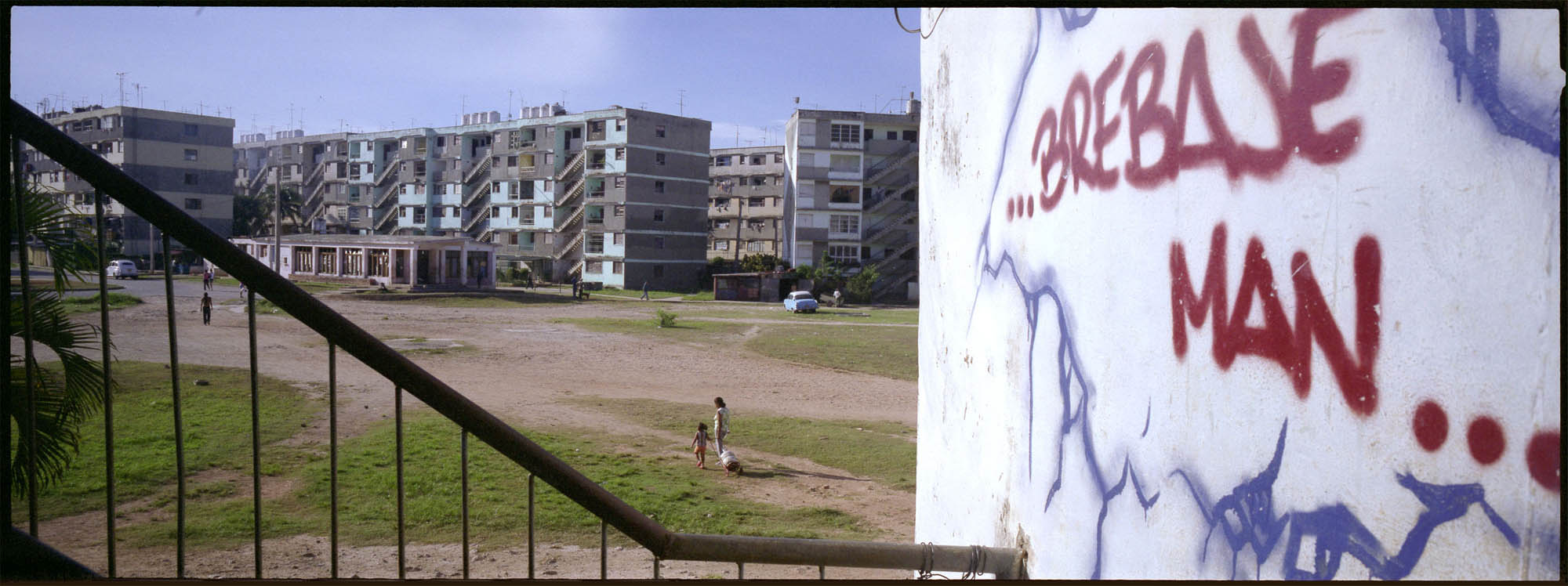 Cuban hip-hop/graffiti series. Source: Oriana Eliçabe.