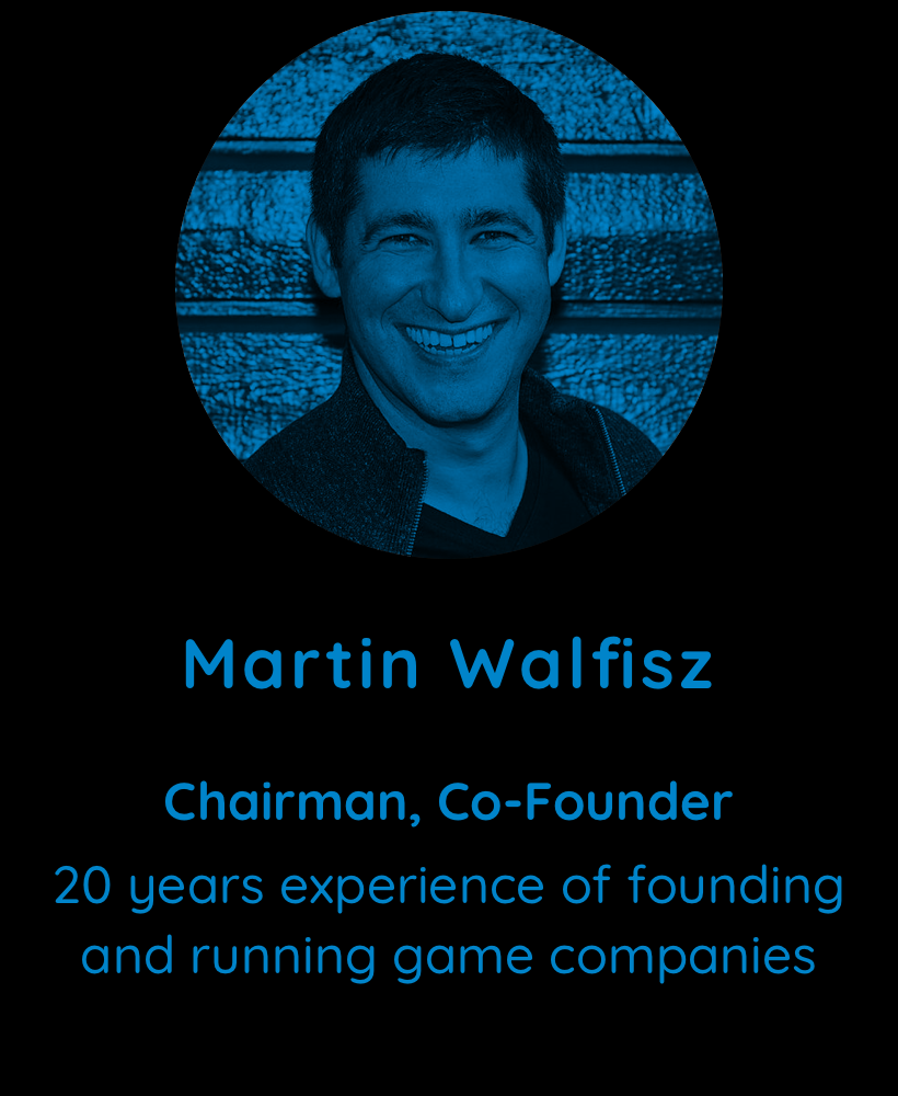 Martin Walfisz, Chairman, Co-Founder