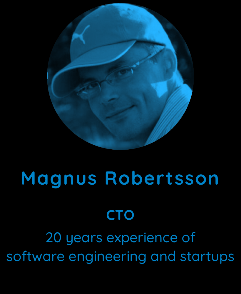 Magnus Robertsson, CTO