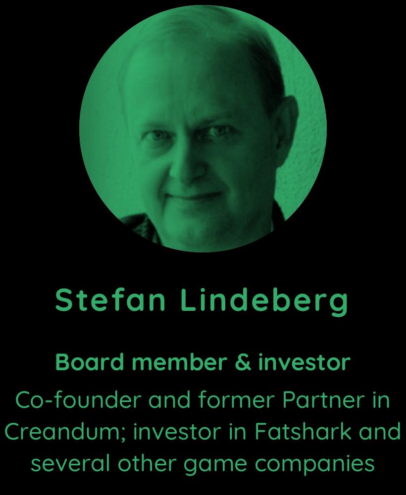 Stefan Lindeberg, board member and investor