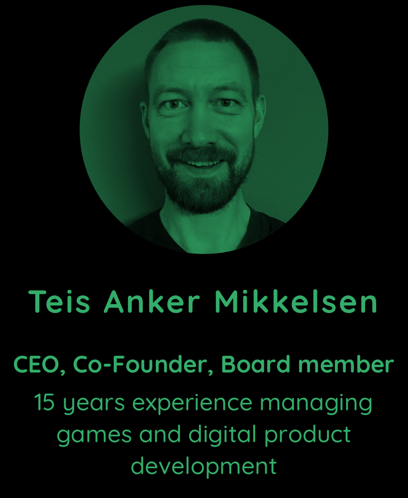 Teis Anker Mikkelsen, CEO & Co-founder
