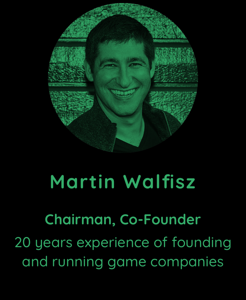 Martin Walfisz Chairman, Co-founder