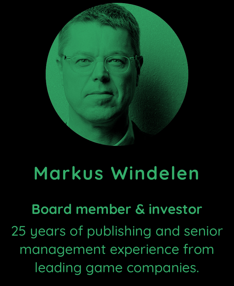 Markus Windelen, board member and investor