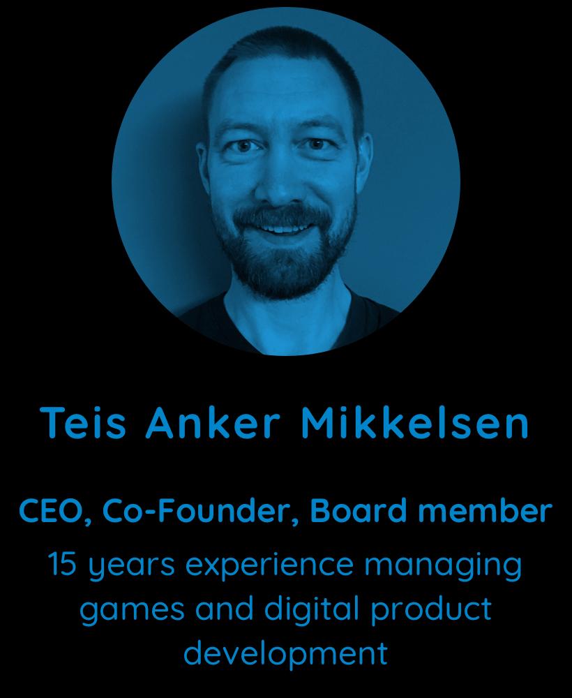 Teis Anker Mikkelsen, CEO, Co-founder, Board member of Unleashd