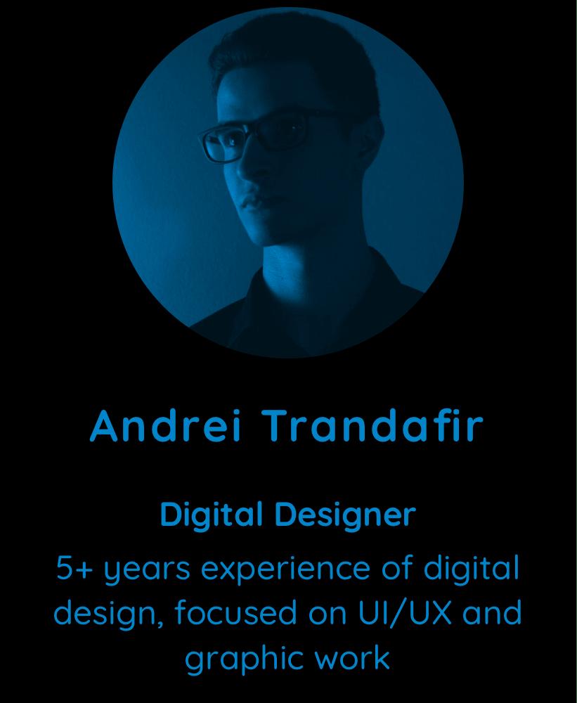 Andrei Trandafir, Digital Designer at Multiscription