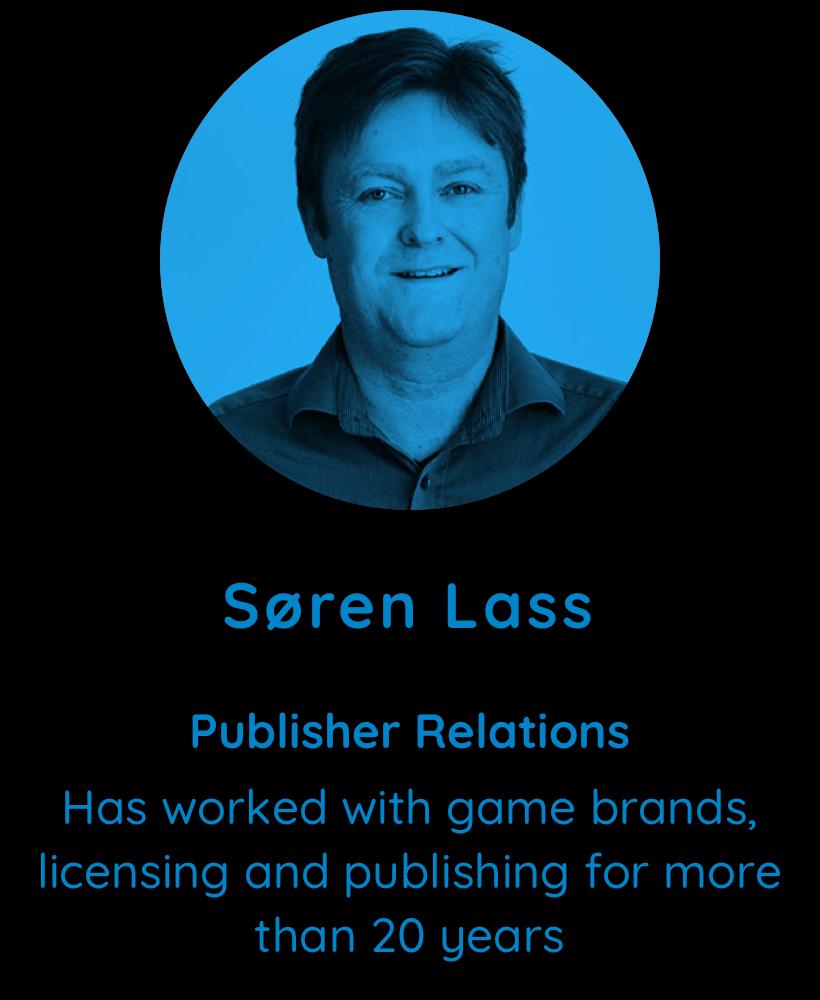 Soren Lass, Publisher Relations