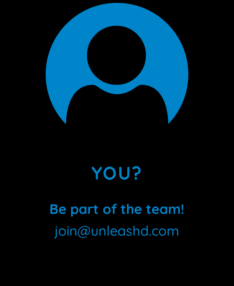 You? Be part of the team!
