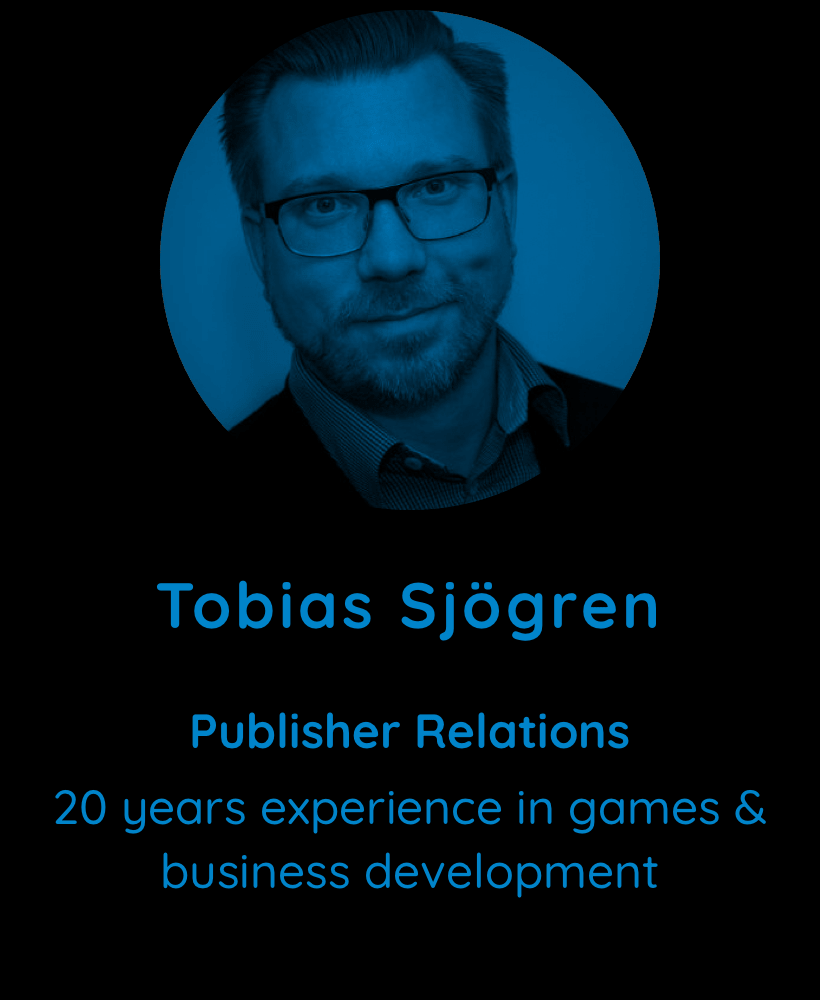 Tobias Sjogren, Publisher Relations