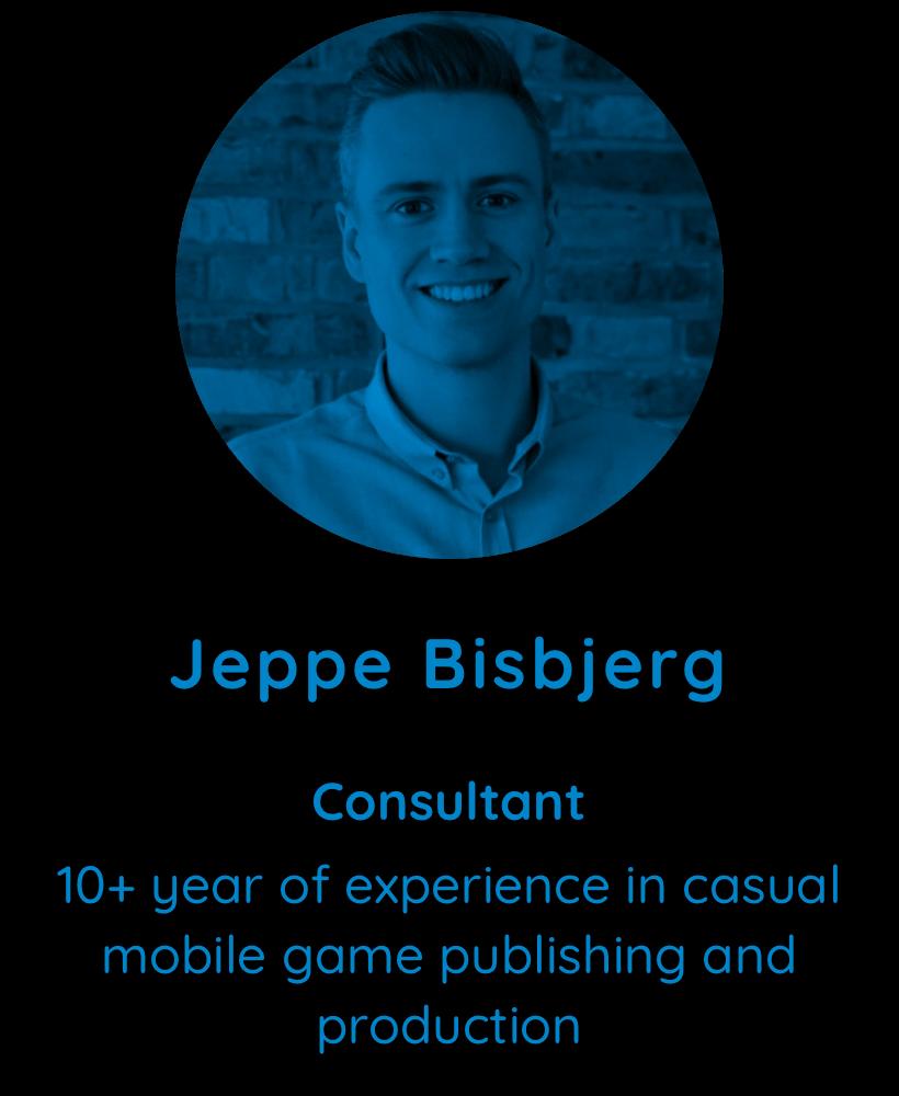 Jeppe Bisbjerg, consultant