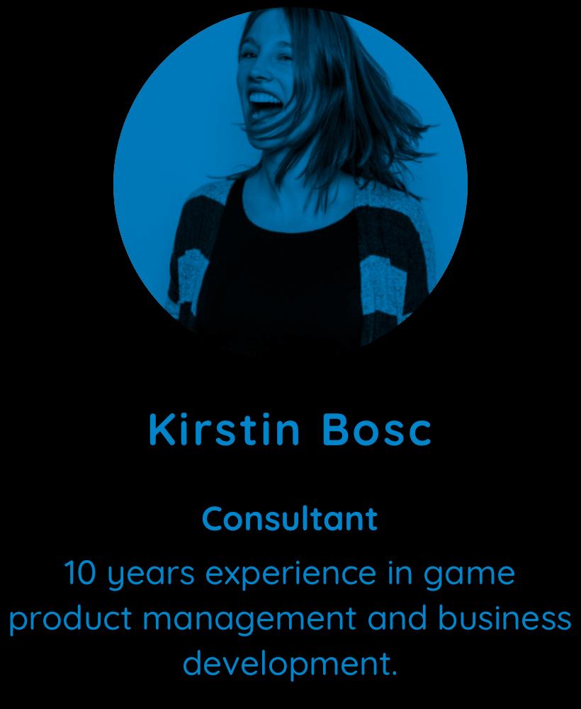 Kirstin Bosc, Consultant