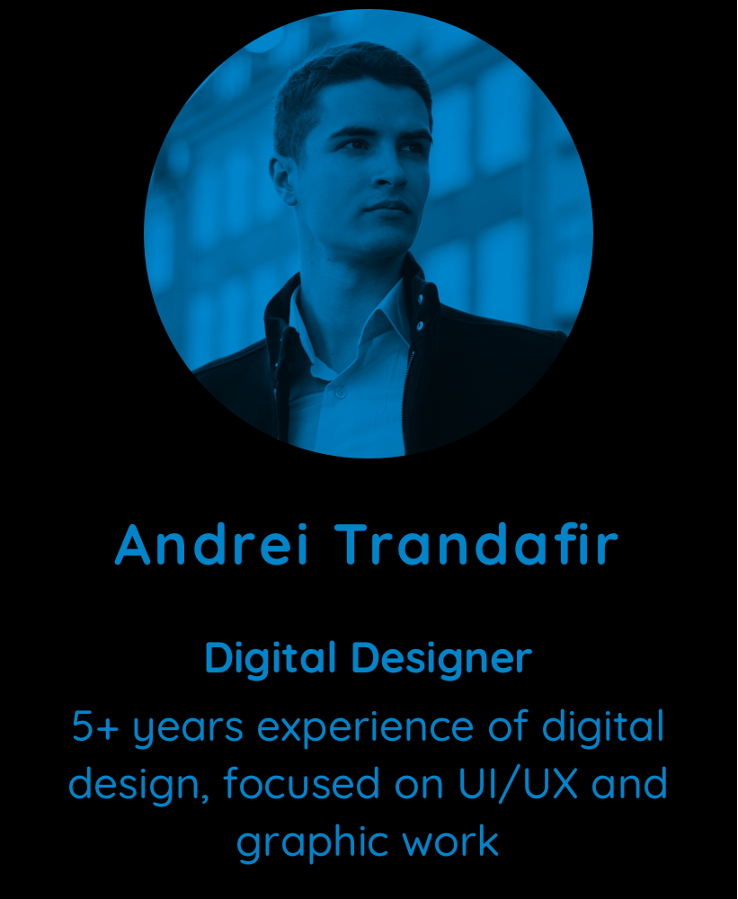 Andrei Trandafir, Digital Designer at Multiscription