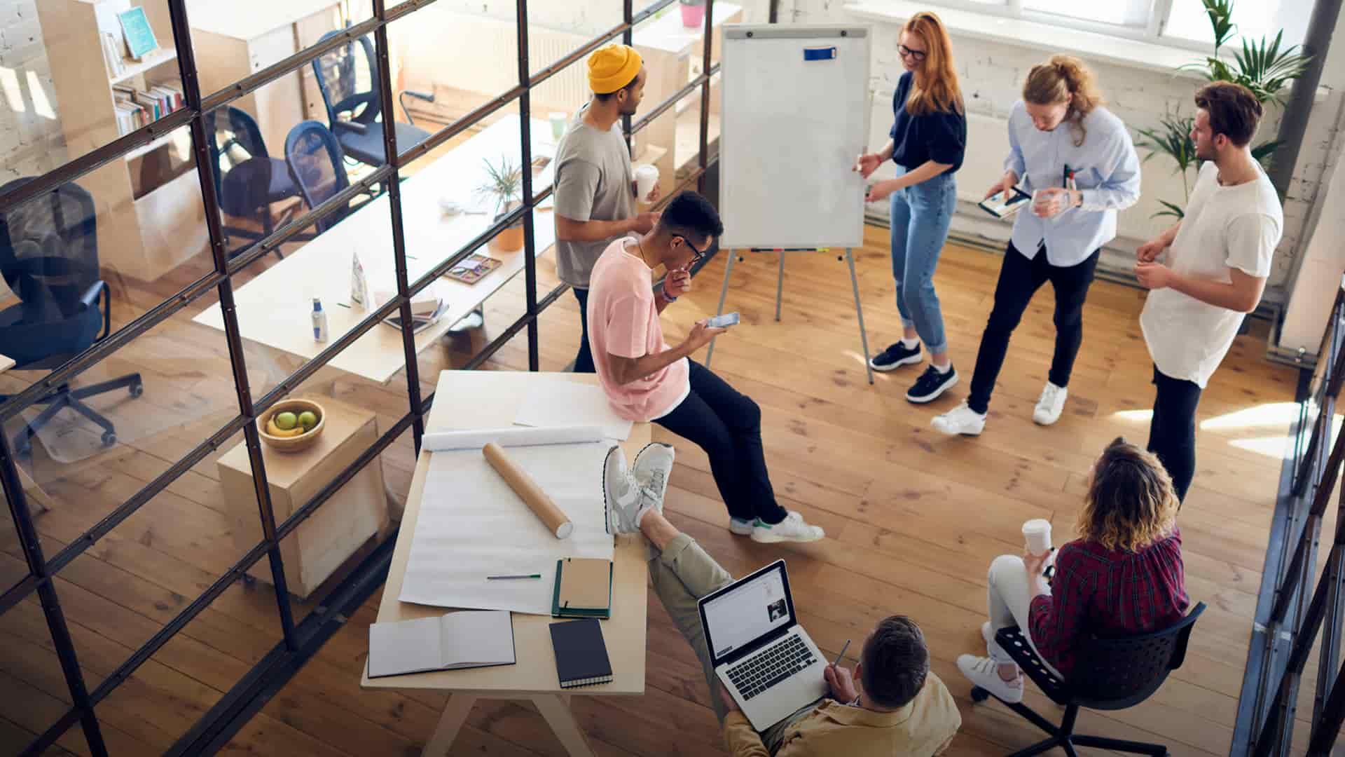 Design A Collaborative Work Environment