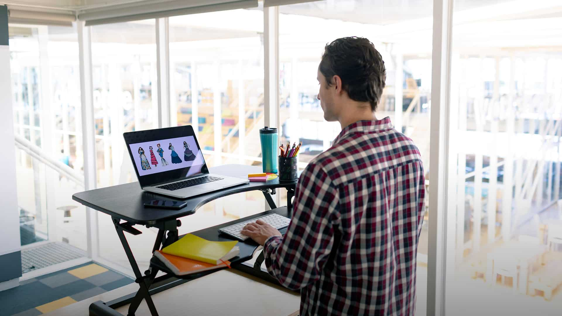 Consider A Stand-Sit Desk