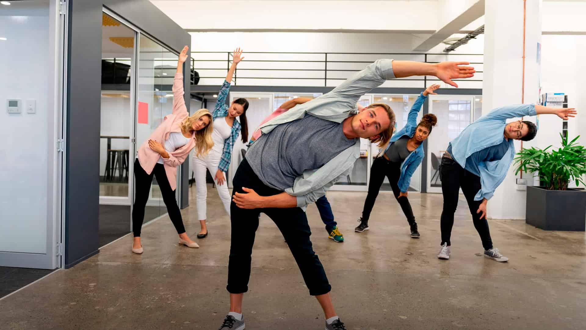Yoga Boosts Morale