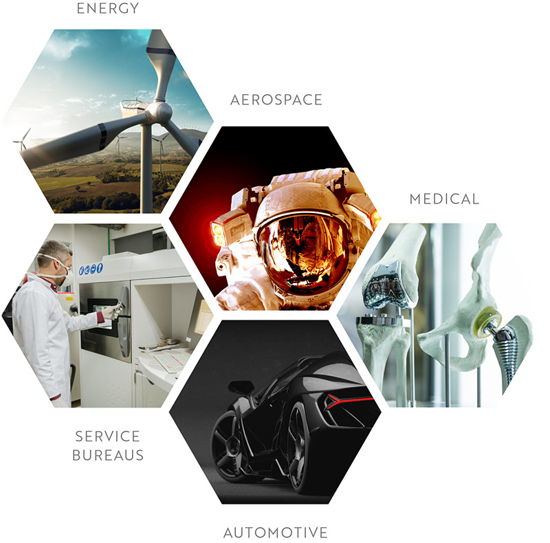 Dyndrite Industries - Energy, Aerospace, Medical, Service Bureaus, Automotive